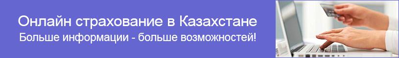 Онлайн страхование в Казахстане. Больше информации - больше возможностей